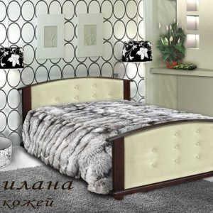 Кровать Милена (кожа)