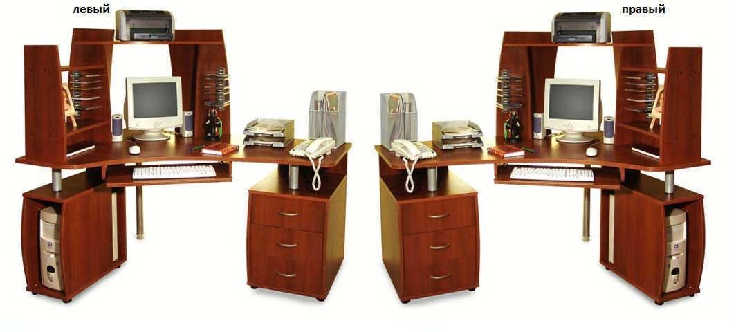 Компьютерный стол ПС 04.14 D(с надставкой ВС 04.42)