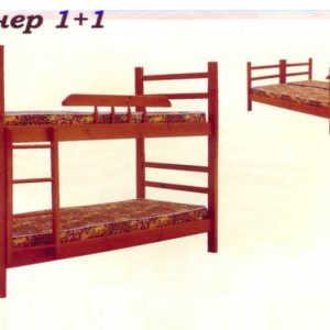 Раскладная кровать Пионер 1+1 (разборная)