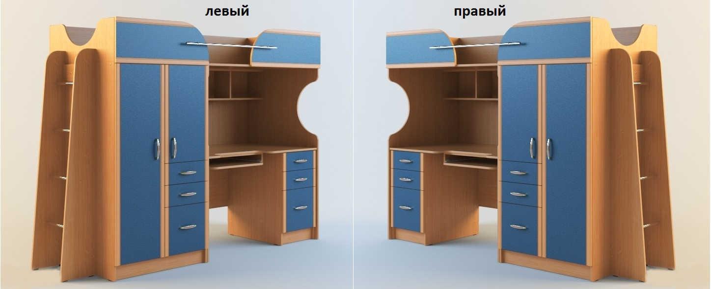 Детская Егорка-чердак левая или правая