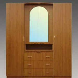 Двухдверный шкаф рапашной №10