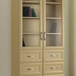 Кухонный напольный шкаф книжный 2№5