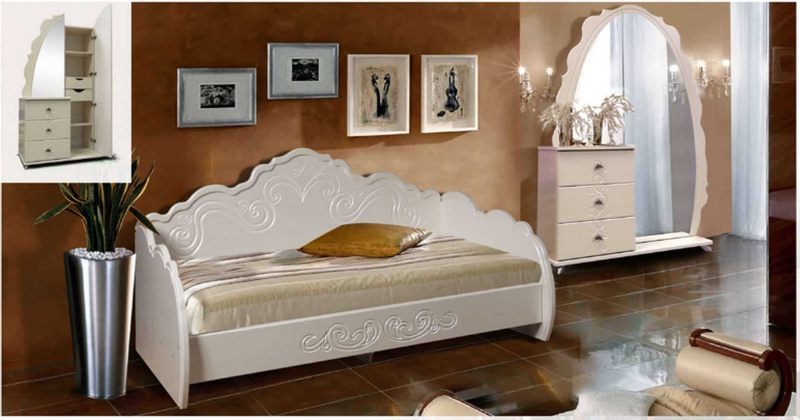 Спальня Арина-4 МДФ
