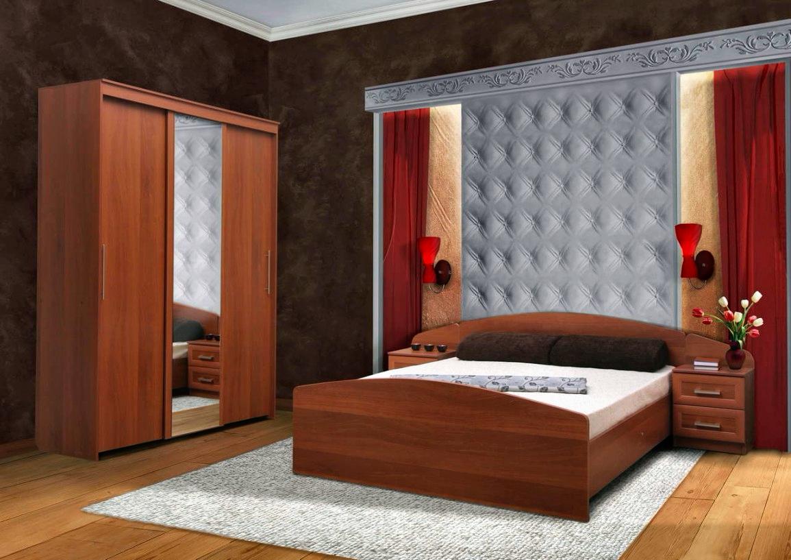 Спальня софия-2 купить в интернет магазине недорогой мебели .