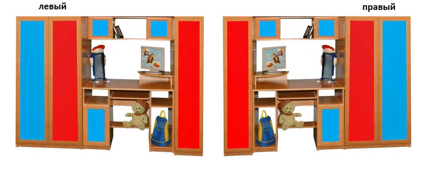 Детская Карлсон-4 шкаф слева или справа