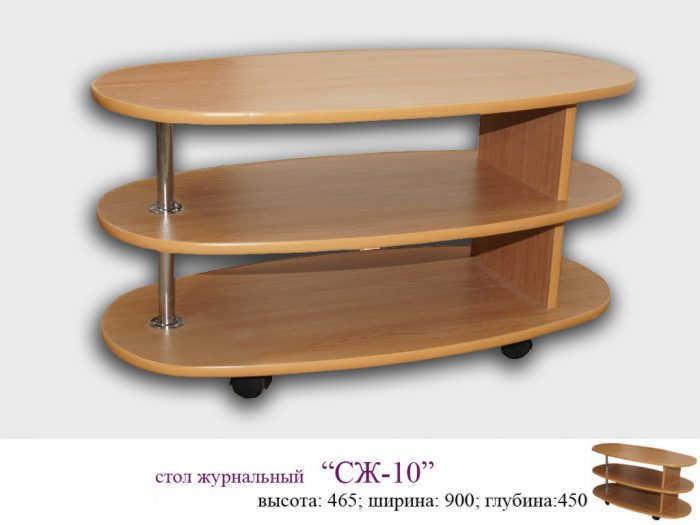 Стол журнальный СЖ-10