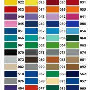 цвета плёнок