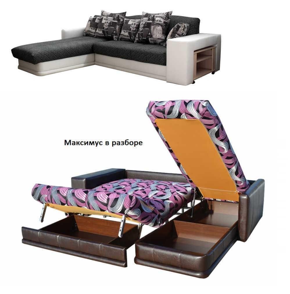 Угловой диван Максимус