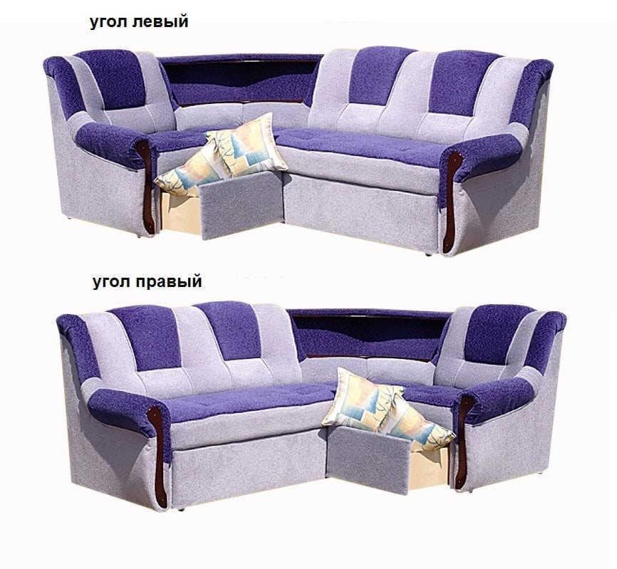 Угловой диван Белла 2 МП угол левый или правый