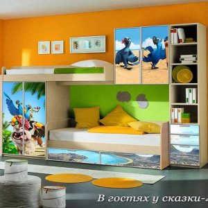 Детская стенка В гостях у сказки-4
