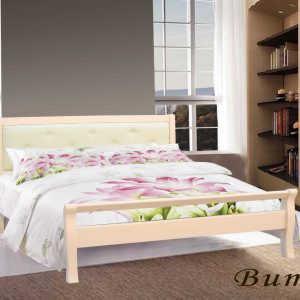Кровать Вита (кожа)